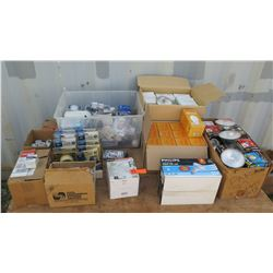 11 Boxes of Various Light Bulbs - Various Types