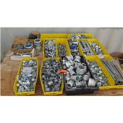 Vast Amount of Pipe/Conduit Fittings, Fasteners, Connectors