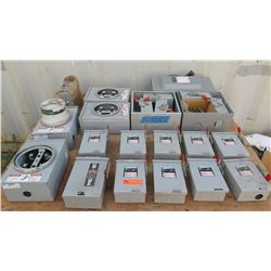 23 PC Siemens Switches and Meter Boxes