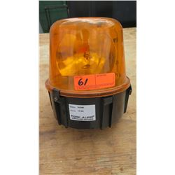 Tork Alert Safety Rotating Beacon, Amber, TA47AN5
