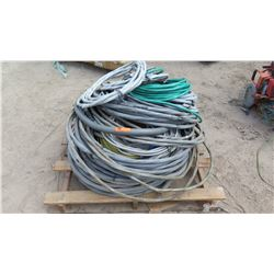 Pallet of Various Wire and Conduit