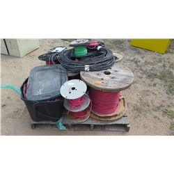 Pallet of Various Wire