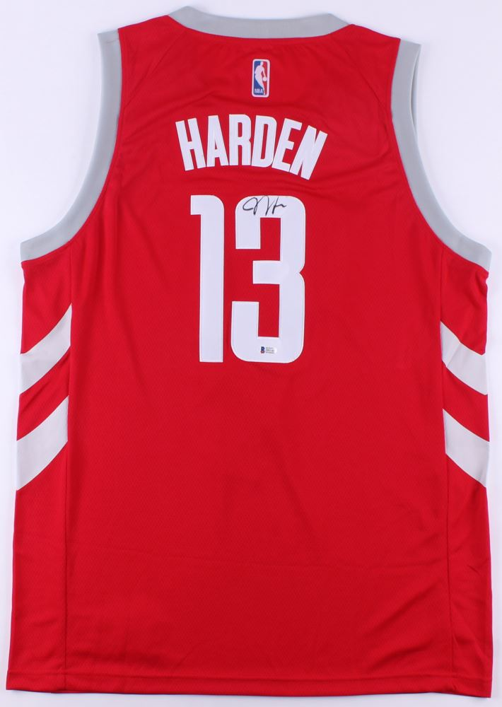 f30bd12b8 ... best image 1 james harden signed rockets chinese new year jersey  beckett coa df42a 76273
