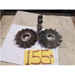 Summit Super HSS Step-Milling Cutter 5''x5/8''x1''1/4