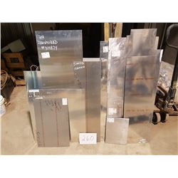 Lot of Aluminum Sheet