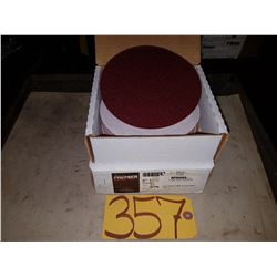 "Box of CarboPremier 6"" PSA Disc Stick-On Gr.80E"