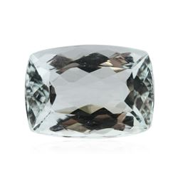 6.61 ctw Cushion Cut Natural Cushion Cut Aquamarine