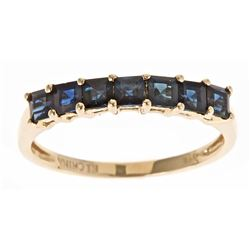 1.33 ctw Sapphire Ring - 14KT Yellow Gold