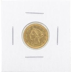1851 $2 1-2 Liberty Gold Coin VF