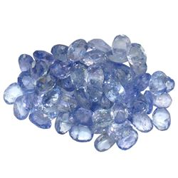 10.55 ctw Oval Mixed Tanzanite Parcel