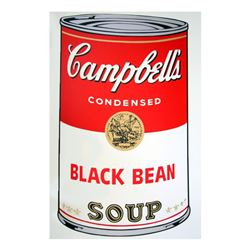 Soup Can 11.44 (Black Bean) by Warhol, Andy