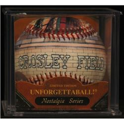 "Unforgettaball! ""Crosley Field"" Nostalgia Series Collectable Baseball"