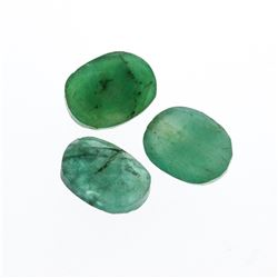 3.53 cts. Oval Cut Natural Emerald Parcel