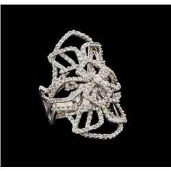14KT White Gold 1.11 ctw Diamond Ring