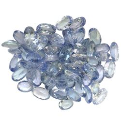 14.65 ctw Oval Mixed Tanzanite Parcel