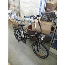 New Zoombicycles Folding Electric Bike - Black
