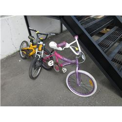 Boy's Jeep LTD & Girl's Super Cycle Bikes