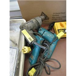 3 Electric Power Drills