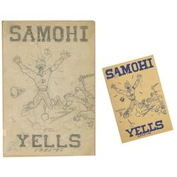 "Santa Monica High ""Yell Book"" Original Cover Art."