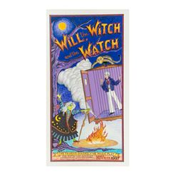 """Will the Witch"" Original Magic Poster Art."