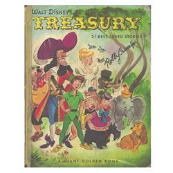 "Signed ""Walt Disney Treasury"" Animator's Parody Book."