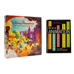 """""""Art of Animation"""" & """"The Illusion of Life"""" Books."""