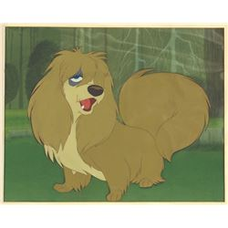 """Lady and the Tramp"" Peg Animation Cel."