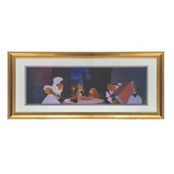 "Limited Edition ""Lady and the Tramp"" Animation Cel."