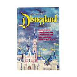 """The Story of Disneyland"" Opening Year Guidebook."