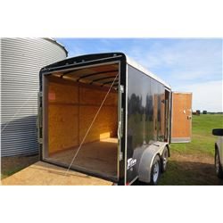2013 TITAN 12' ENCLOSED TRAILER