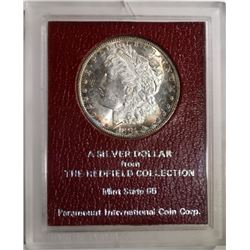 1881-S MORGAN DOLLAR REDFIELD COLLECTION