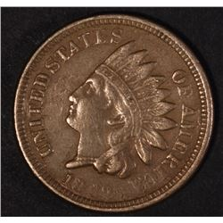 1862 INDIAN CENT, VF/XF