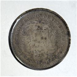 1874 A SILVER 10 CENT  VF