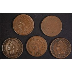 INDIAN CENT LOT: