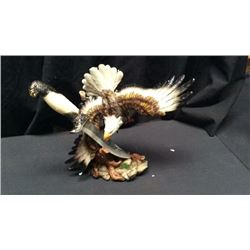 Eagle Statue with Knife