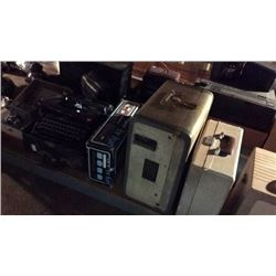 Vintage Speakers Projectors and Other Electronics