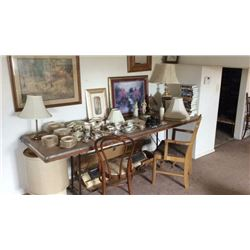 Grouping of Antiques and Collectibles