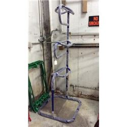 Blue 3 Tier Saddle Stand-new