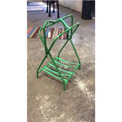 Green Saddle Stand-new
