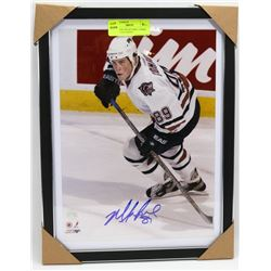 EDMONTON OILERS MIKE COMRIE SIGNED 11X14 PHOTO