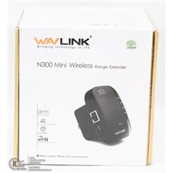 NEW WAVLINK N300 WIRELESS RANGE EXTENDER