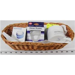 BASKET W/NEW PRODUCTS - GRIND GUARD,