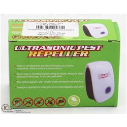 NEW ULTRASONIC PEST REPELLER
