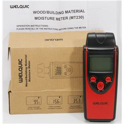 NEW WOOD/BUILDING MATERIAL MOISTURE METER