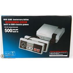 NEW 500 BUILT IN CLASSIC GAMES CONSOLE