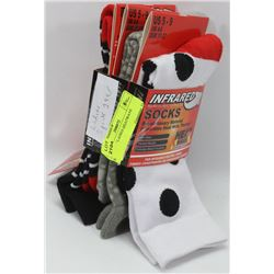 3 PACK OF LADIES HEATWAVE SOCKS