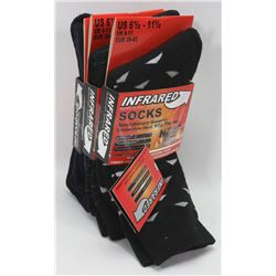3 PACK OF MENS HEAT WAVE  SOCKS