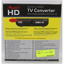 ACCESS HD DIGITAL TO ANALOG CONVERTER