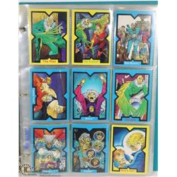 X MEN AND X FORCE COLLECTOR CARDS