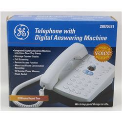 GE TELEPHONE WITH DIGITAL ANSWERING MACHINE